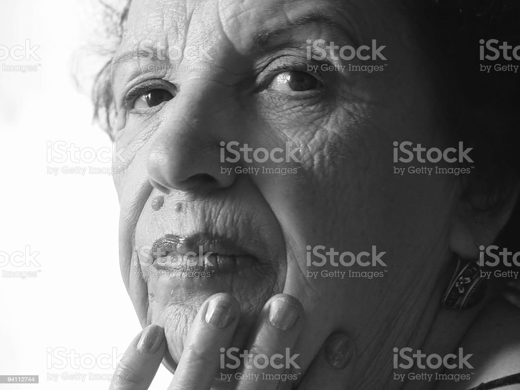 beauty of the old age royalty-free stock photo