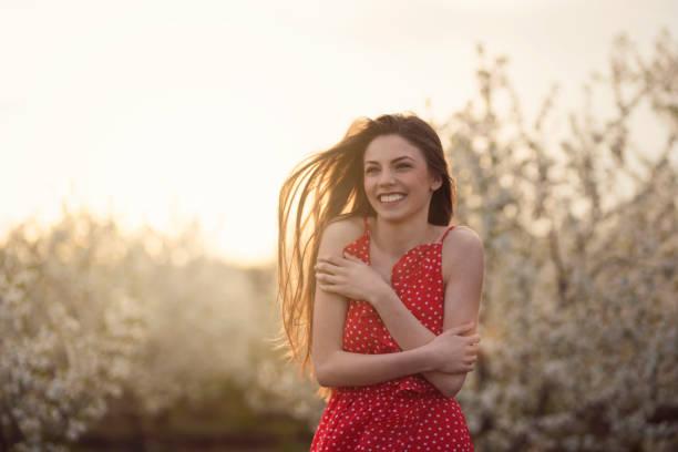 Beauté sur brise de printemps agréable - Photo