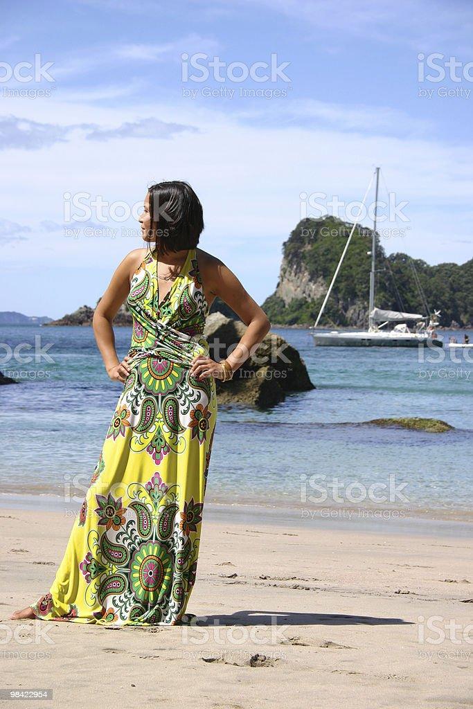 뷰티 해변 royalty-free 스톡 사진