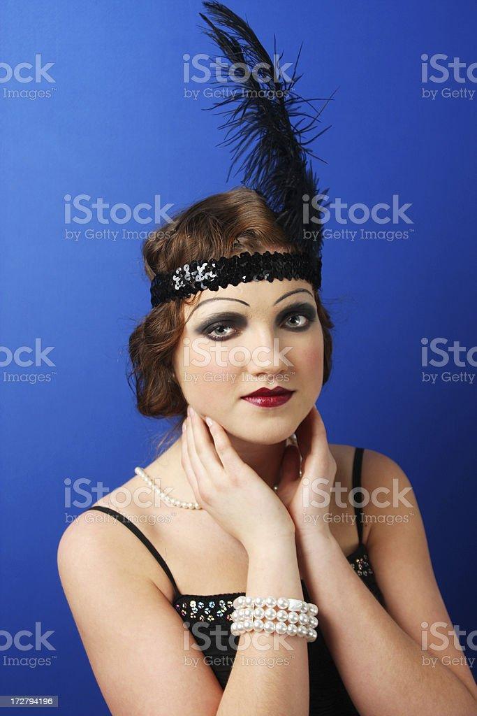 20' beauty royalty-free stock photo