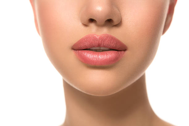 beauty. - human lips stock photos and pictures