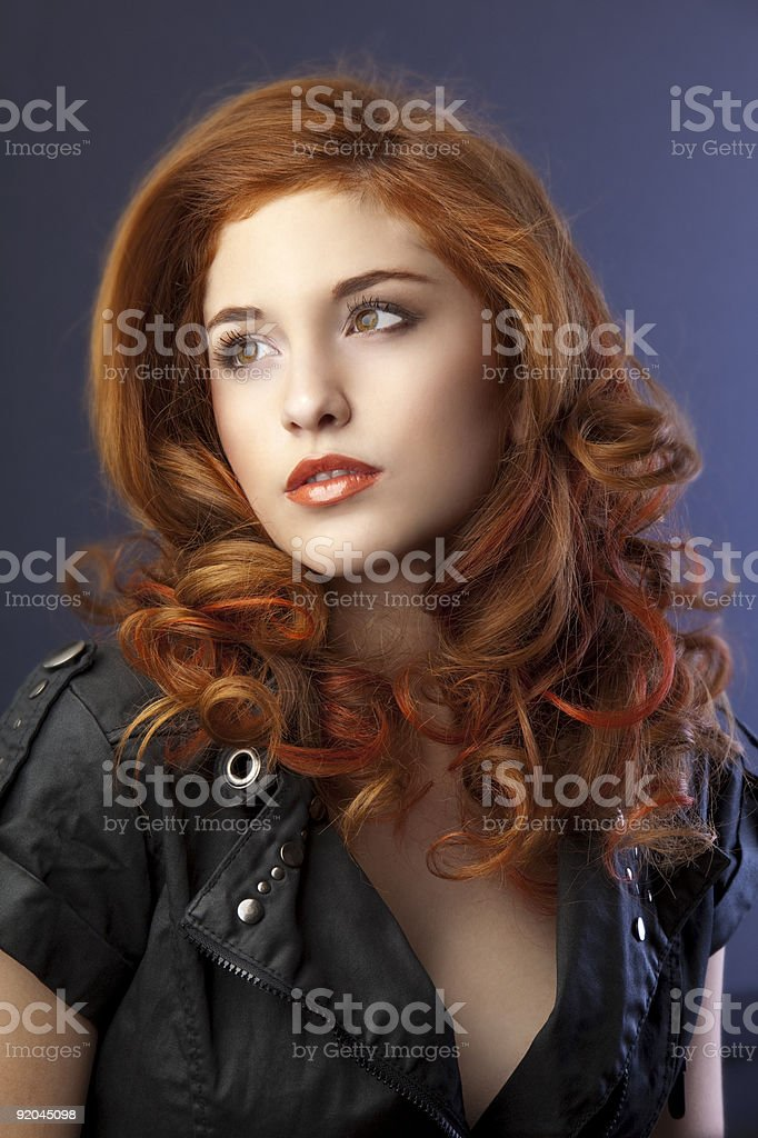 Beauty pinup royalty-free stock photo