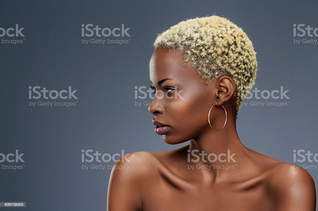 Beauty portrait  Fashion  Beautiful african ethnicity  young women – Foto