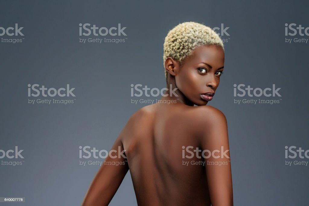 Beauty portrait  Fashion  Beautiful african ethnicity  young women stock photo