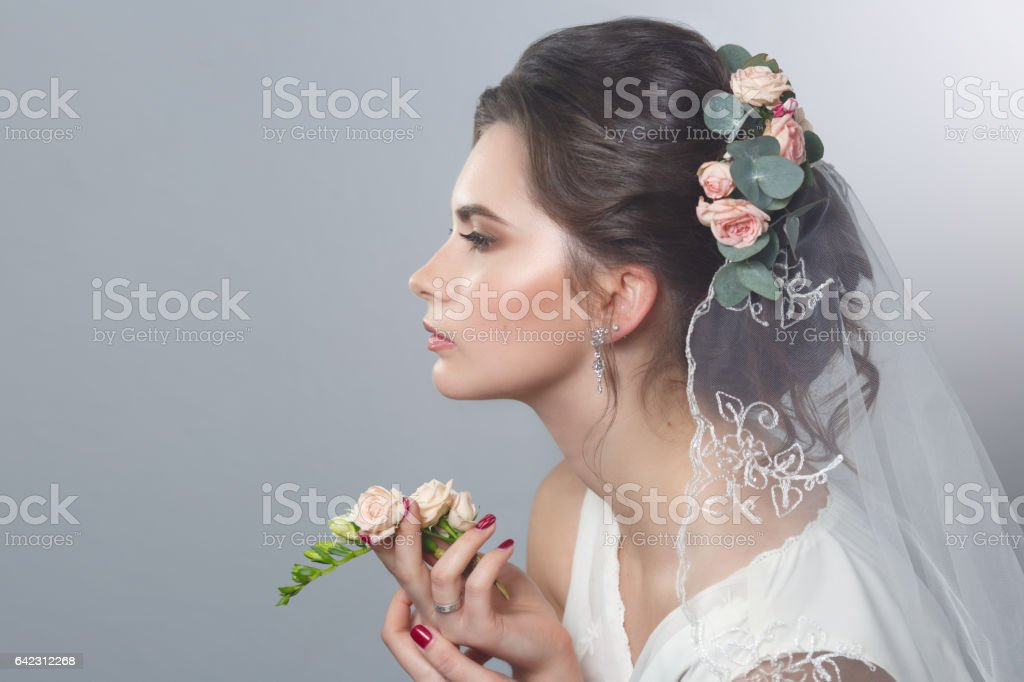 Royalty Free Bridal Hair Roses Pictures Images And Stock Photos