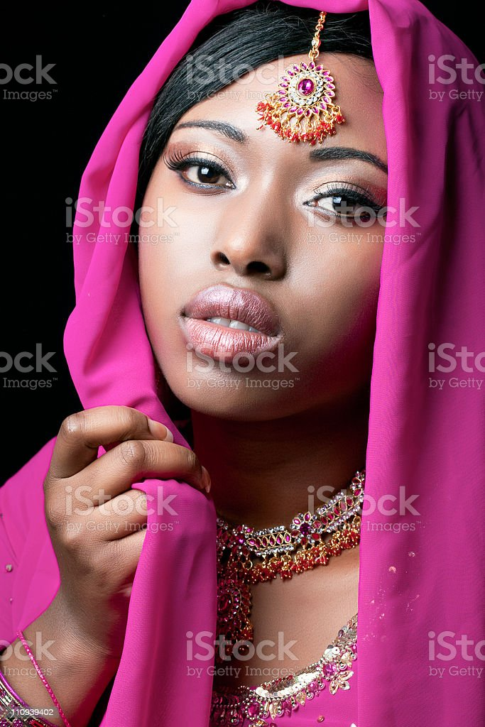 Beauty portrait of a young asian woman royalty-free stock photo