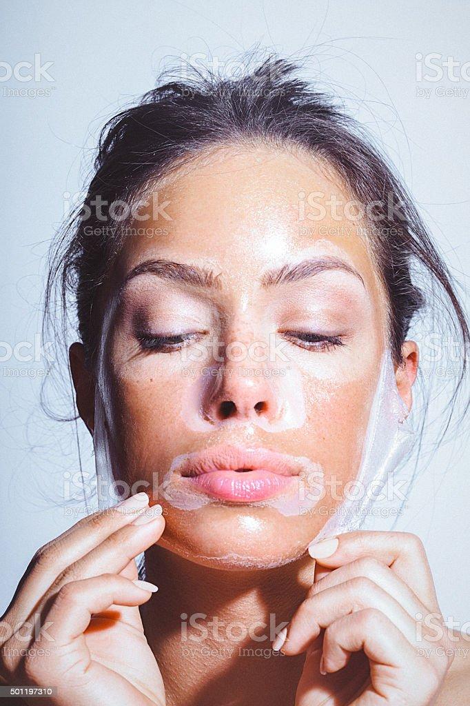 masque anti rides femme
