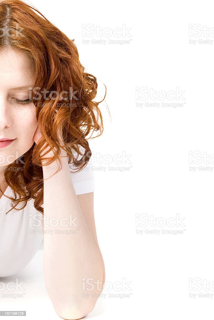 Beauty Portrait of Woman royalty-free stock photo