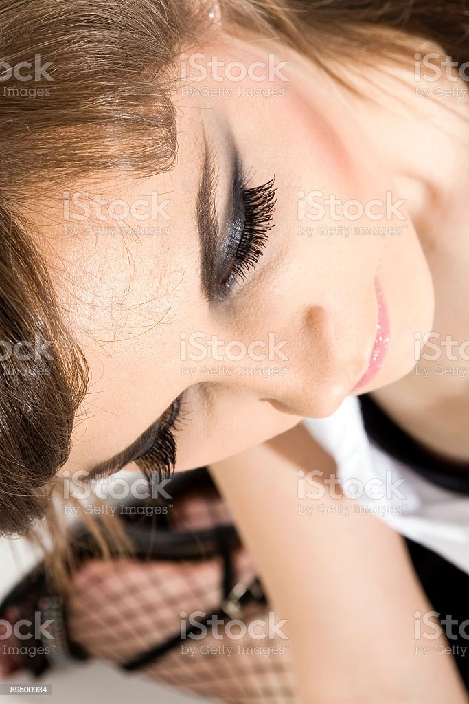 Beauty Portrait of Woman royaltyfri bildbanksbilder