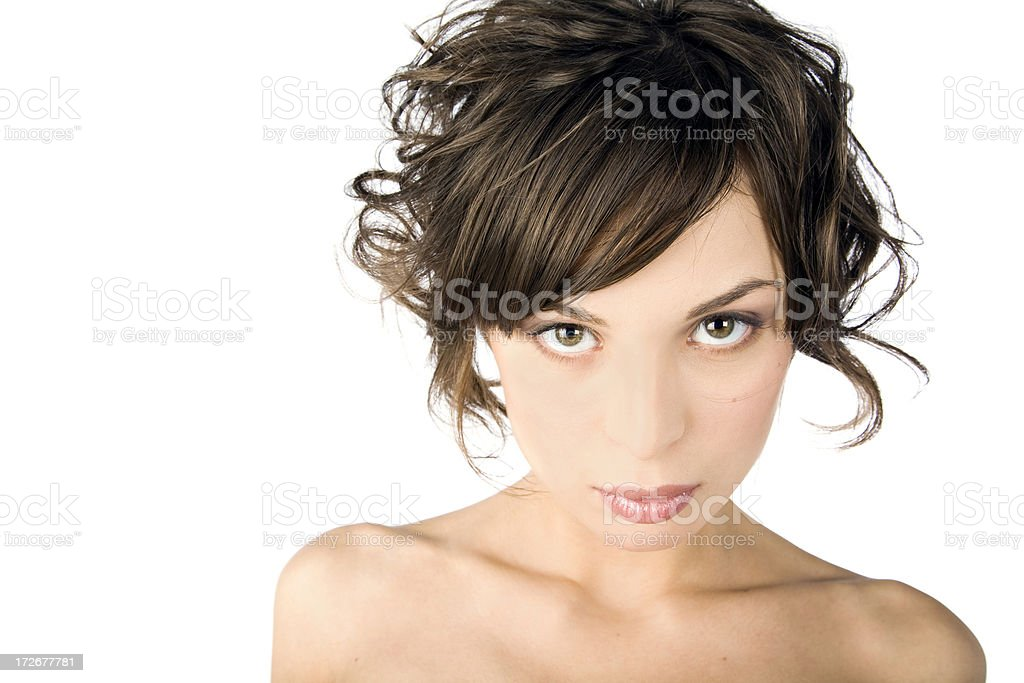 Beauty Portrait of Young Woman royalty-free stock photo