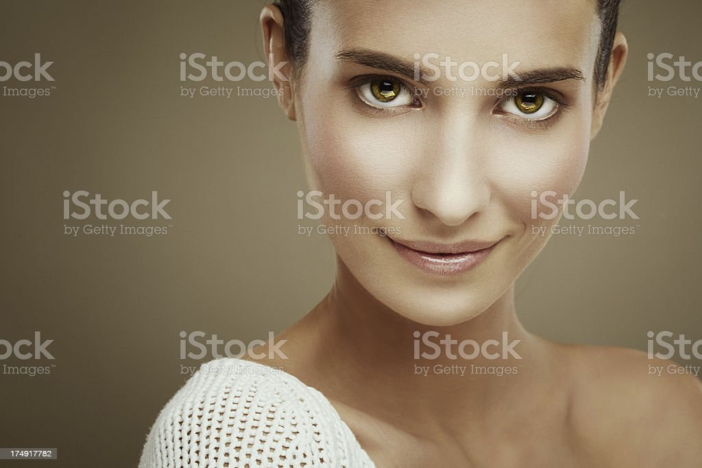 Beauty portrait . stock photo