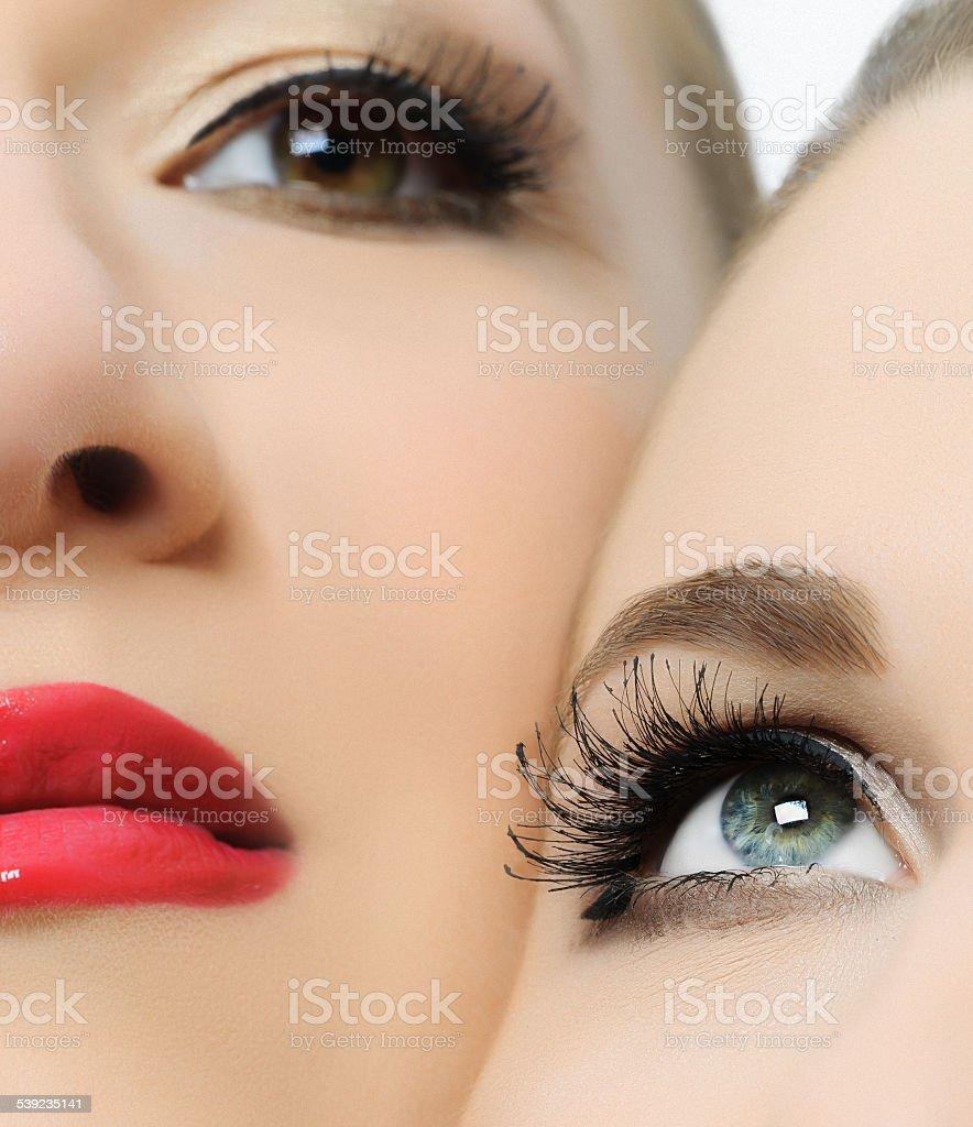 Retrato de belleza foto de stock libre de derechos