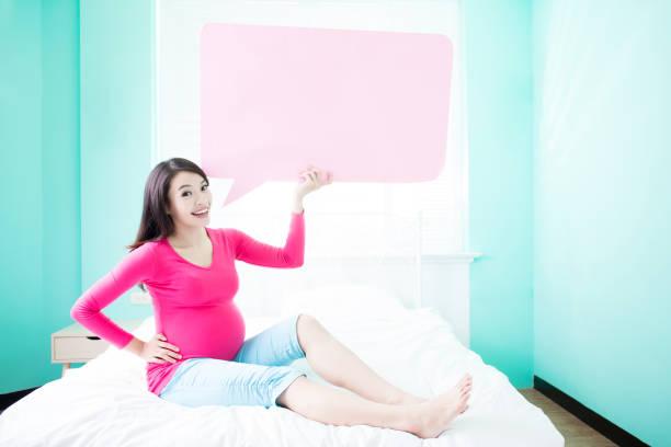 beauty pregnancy woman - sprüche zur schwangerschaft stock-fotos und bilder