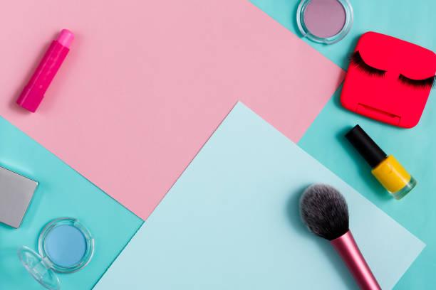 미용 제품, 일상 메이크업, 화장품 - 속눈썹 컬러 뉴스 사진 이미지