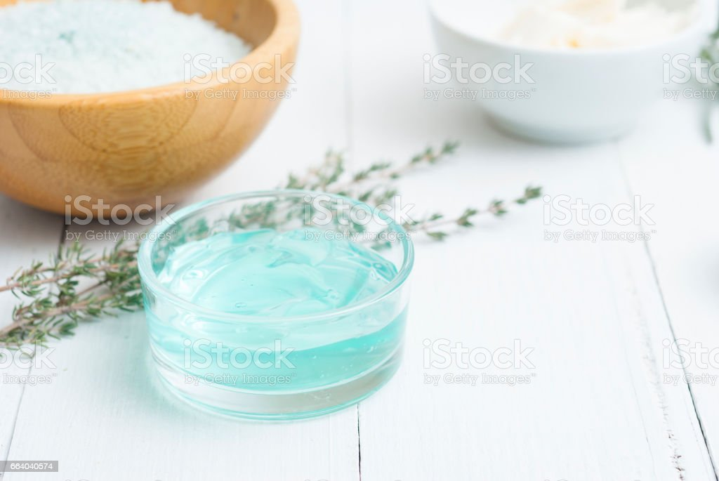Beauty products stock photo