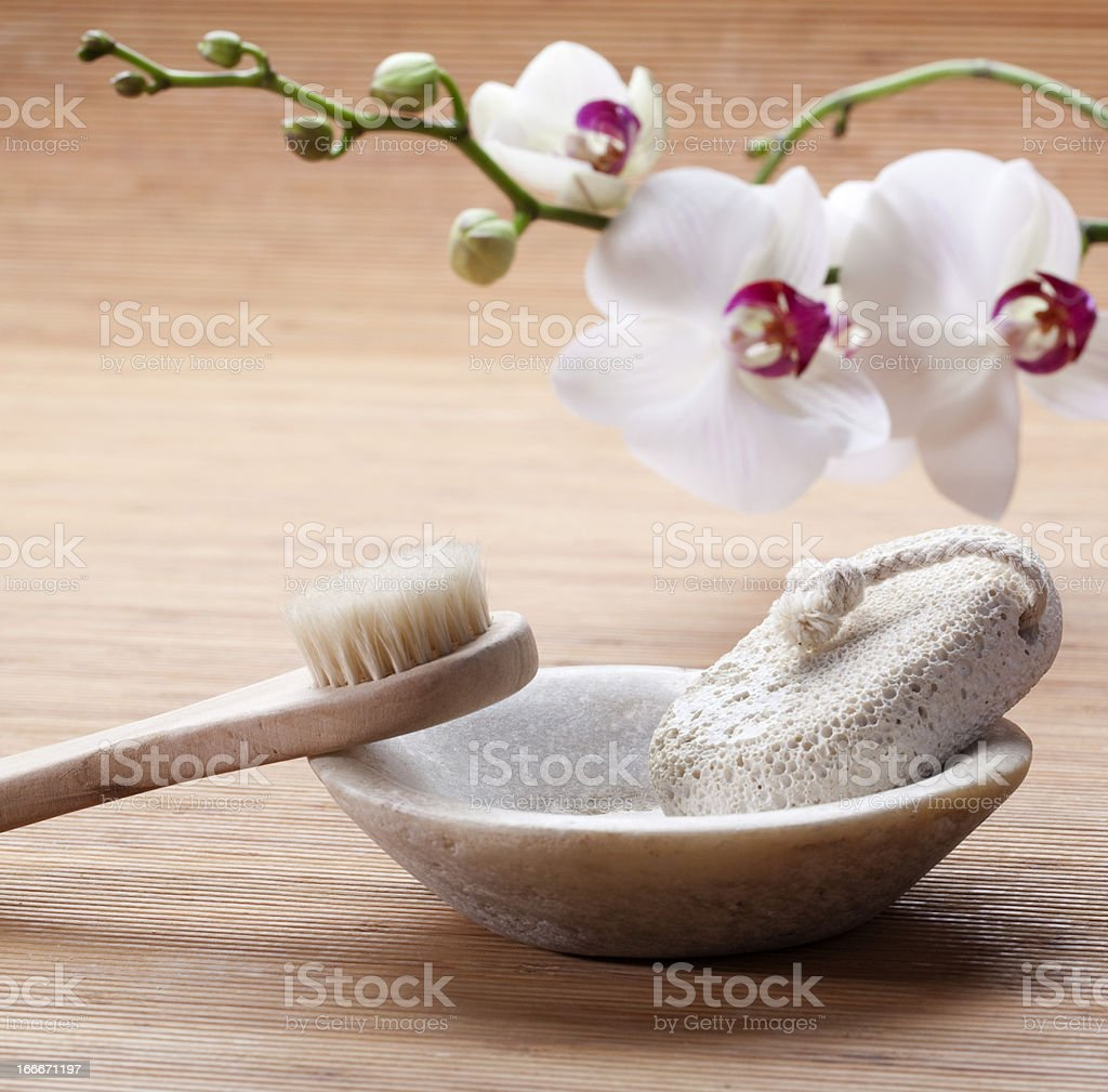 beauty purifying cure for pampering indulgence stock photo