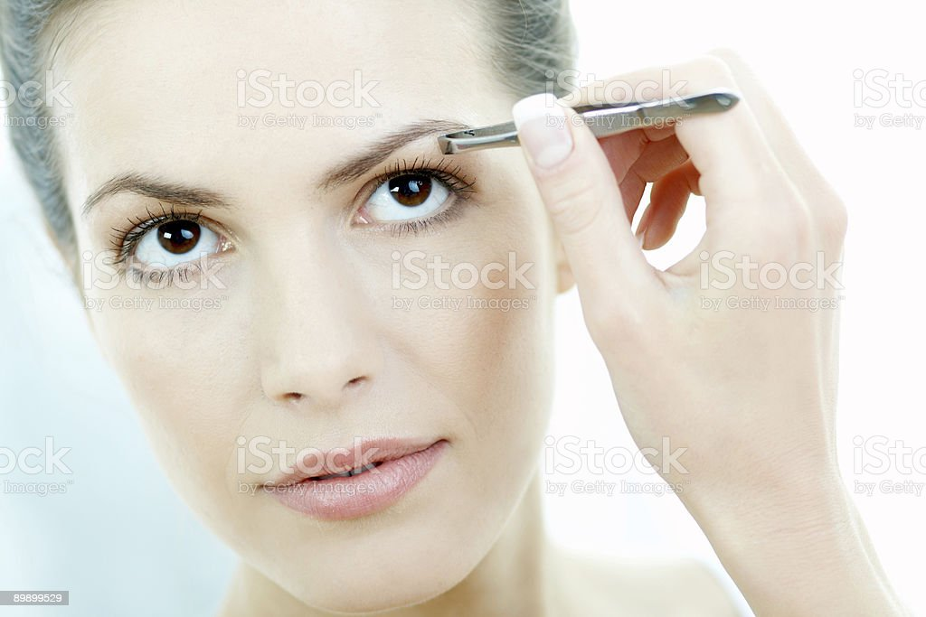 Beauty routines 2 royalty free stockfoto