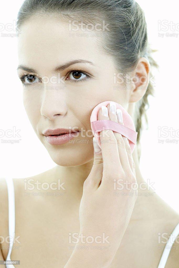 Schönheitspflege für 2 Lizenzfreies stock-foto