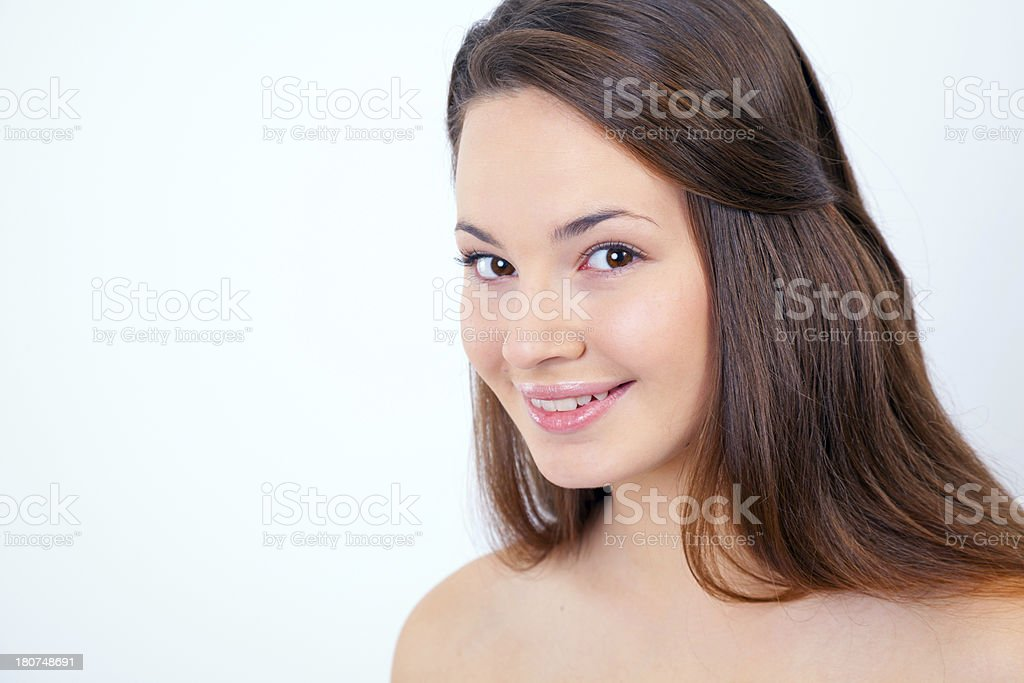 Beauty Secrets Every Teen Should Know royalty-free stock photo