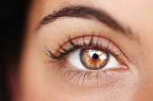 istock Beauty shines brilliantly in her gaze 174987003