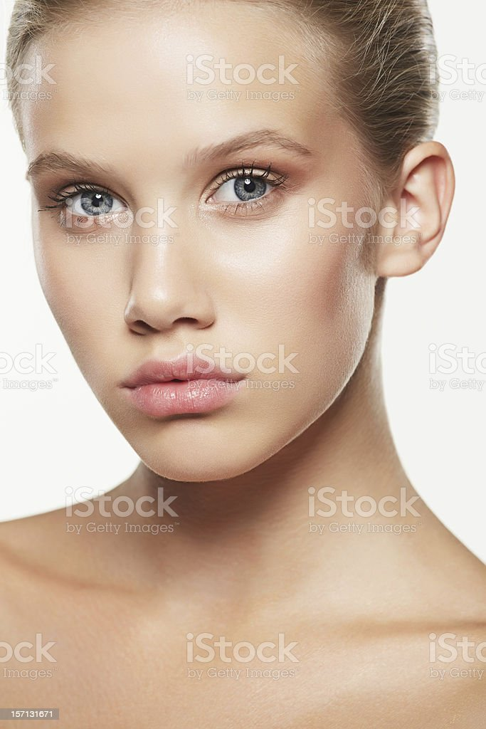 Beauty Shot Of A Beautiful Girl royalty-free stock photo