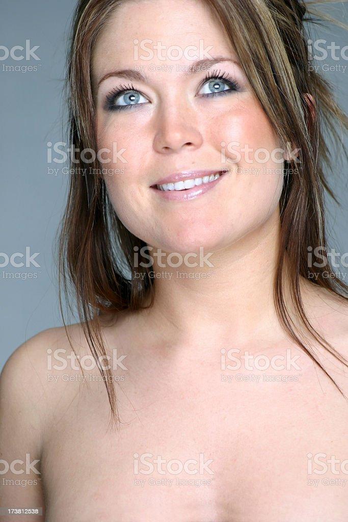 Beauty shot stock photo