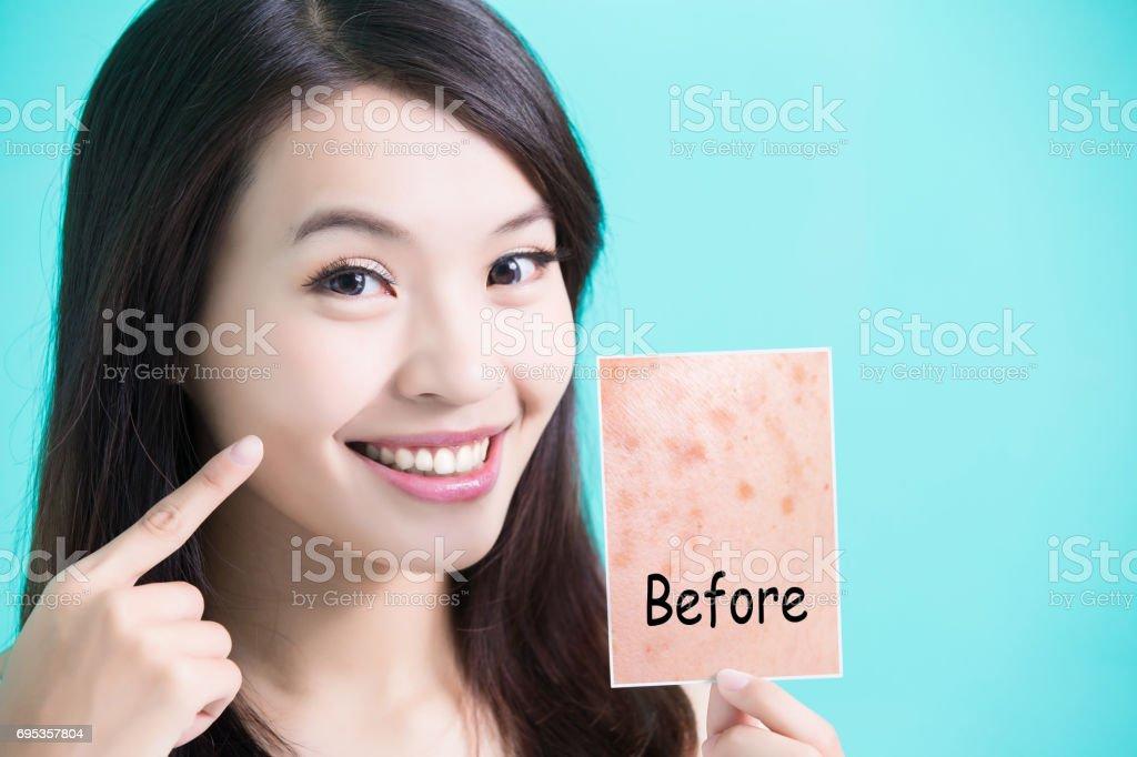 beauty skincare woman stock photo