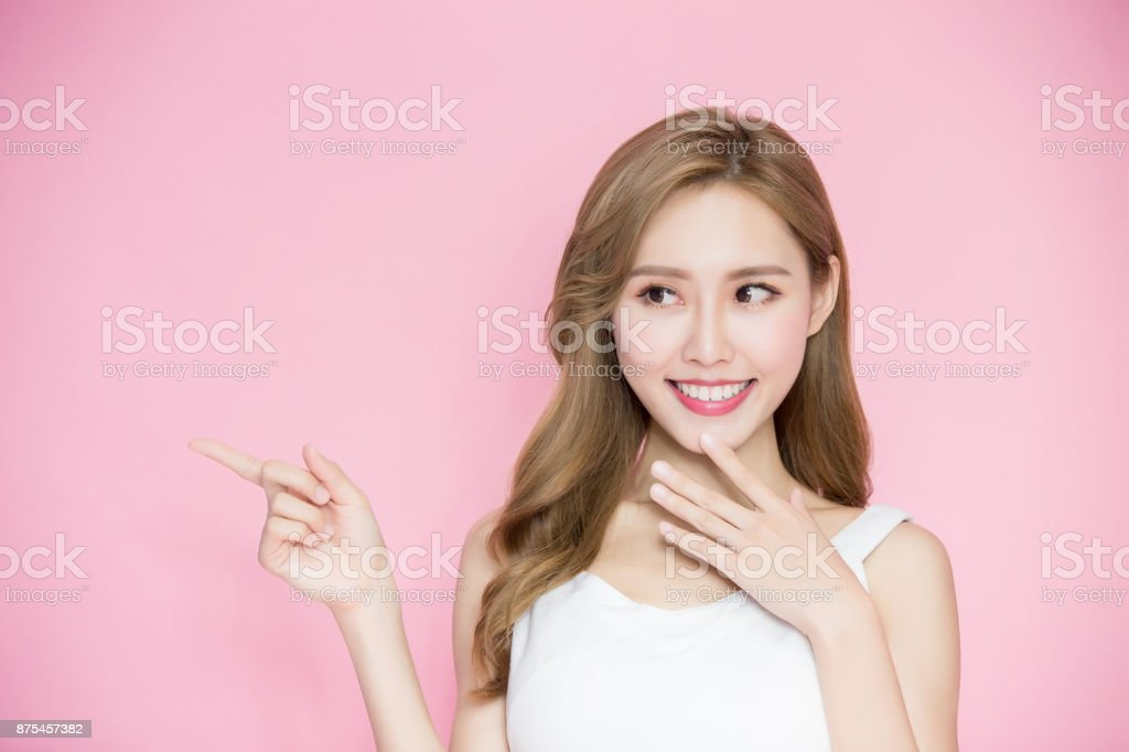 beauty skincare woman stock photo
