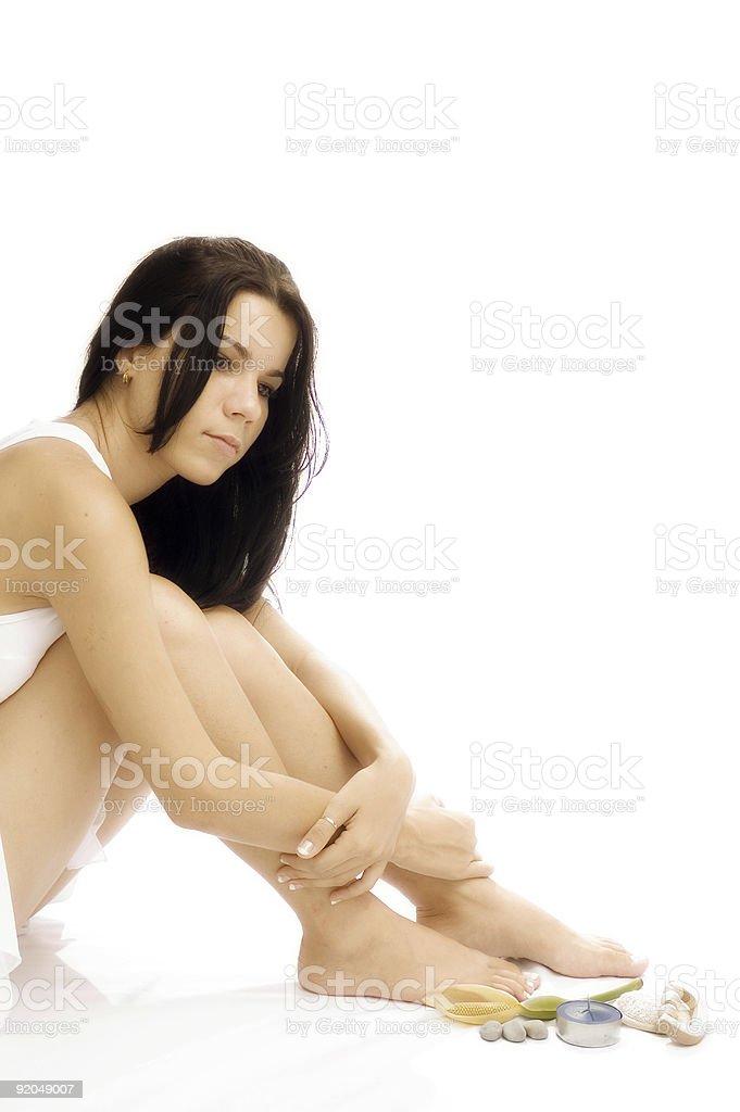 Beauty spa - body care royalty-free stock photo