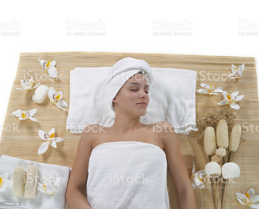 Beauty spa concept stock photo