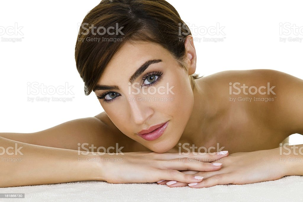 Beauty spa concept royalty-free stock photo