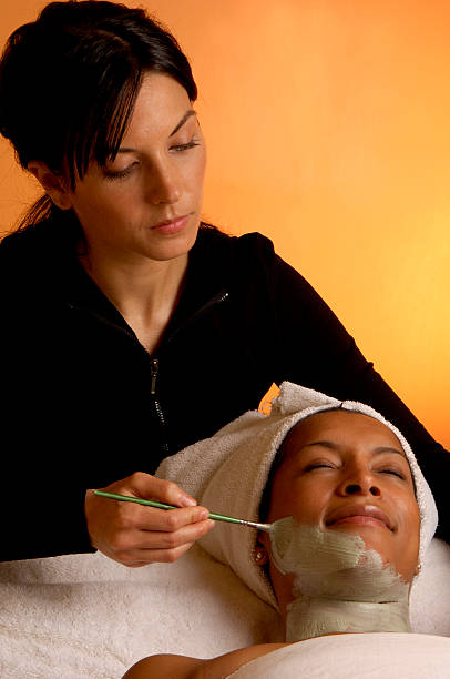Beauty Spa-Gesichtsmaske – Foto