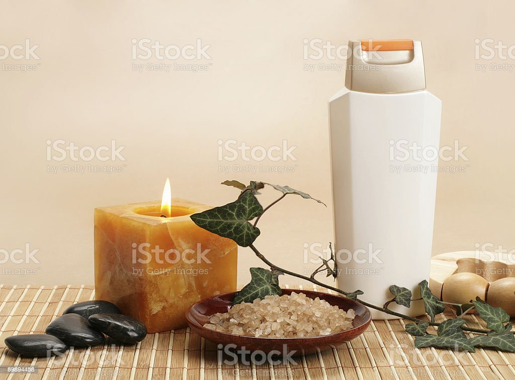 beauty spa set royalty-free stock photo
