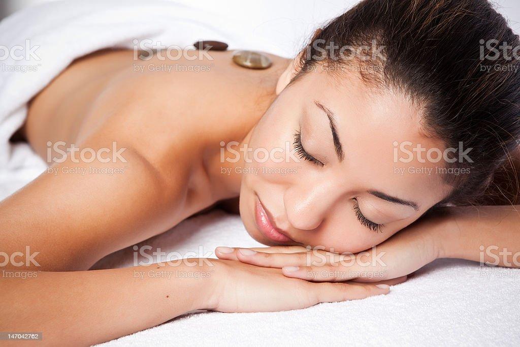 Beauty spa woman royalty-free stock photo