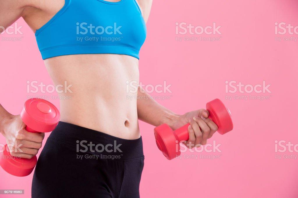 beauty sport woman stock photo