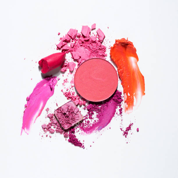 beauty  swatches. - make up stock pictures, royalty-free photos & images