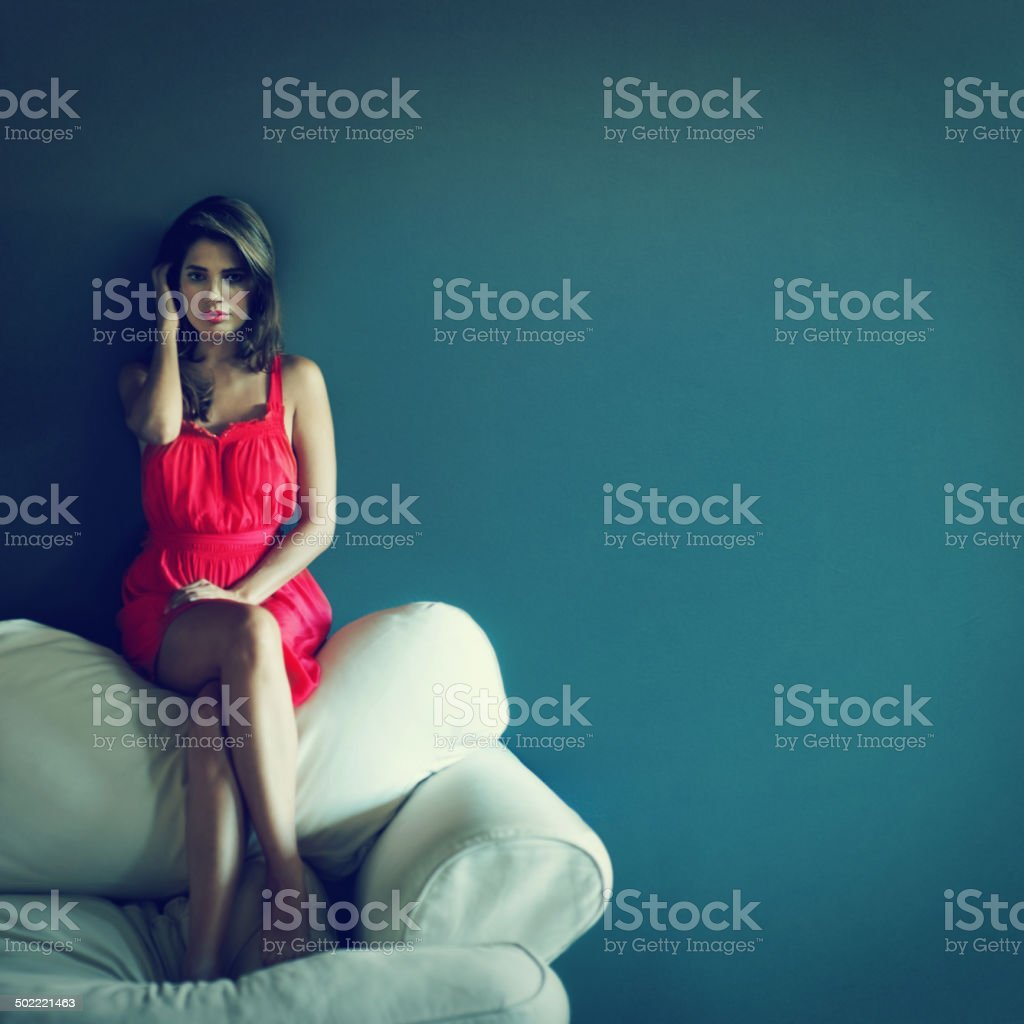 Beauty that commands your attention stock photo