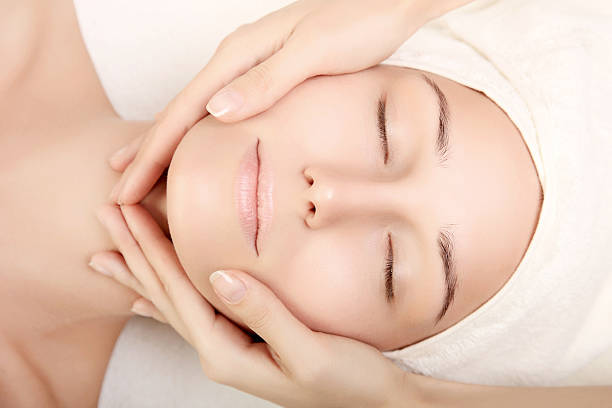 beauty treatment - beautician stock photos and pictures