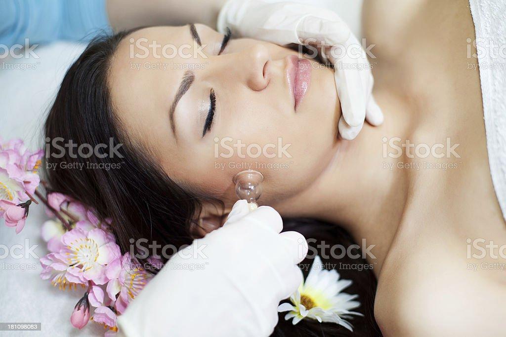 Beauty treatment. royalty-free stock photo