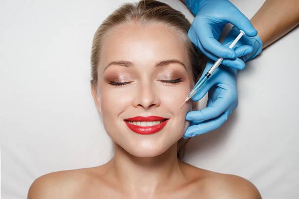 Tratamiento de belleza - foto de stock
