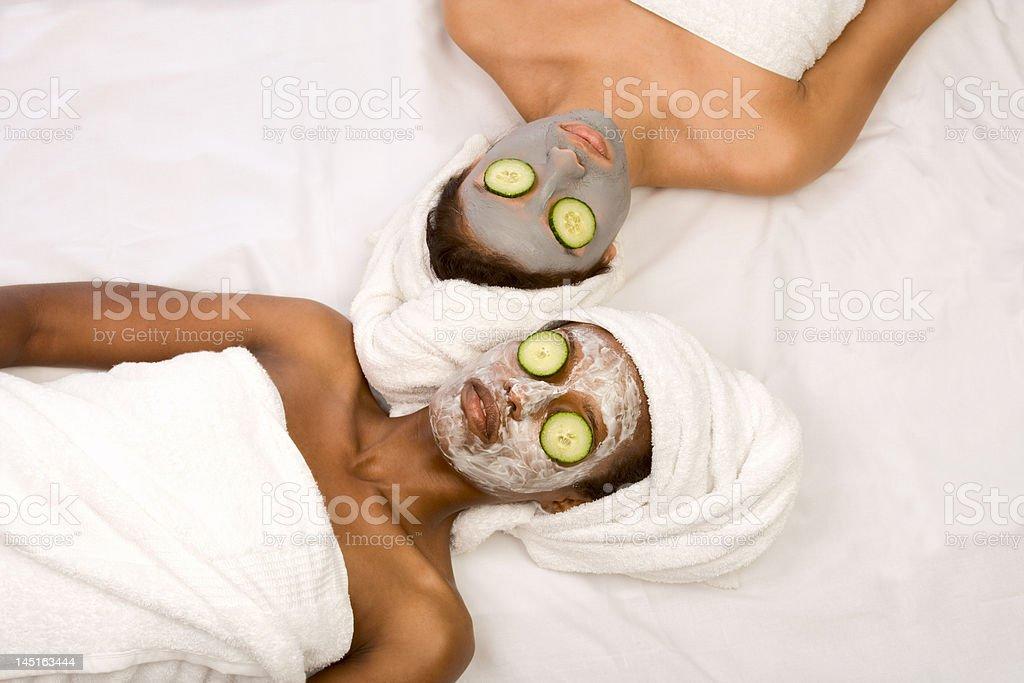 Beauty treatment spa stock photo