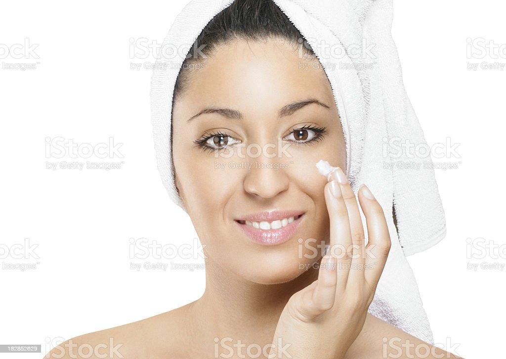 Beauty treatment,isolated. stock photo