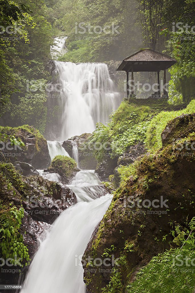 Beauty waterfall royalty-free stock photo
