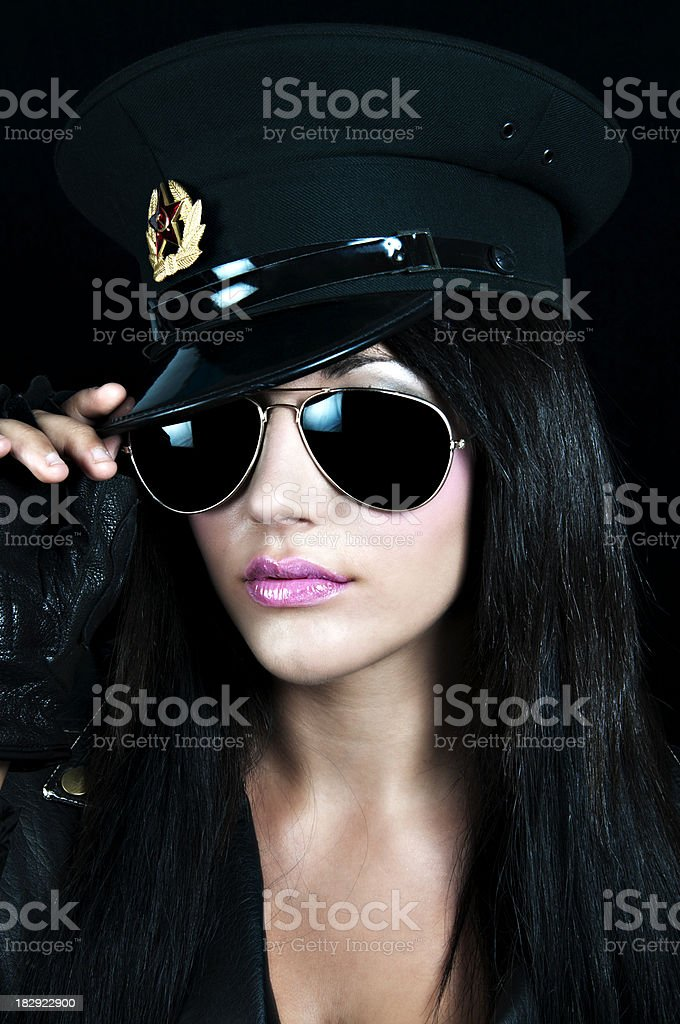 Beauty with Hat royalty-free stock photo