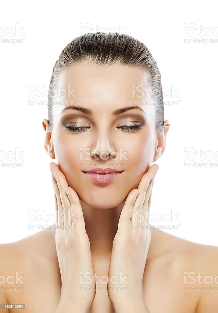 Beauty woman. royalty-free stock photo