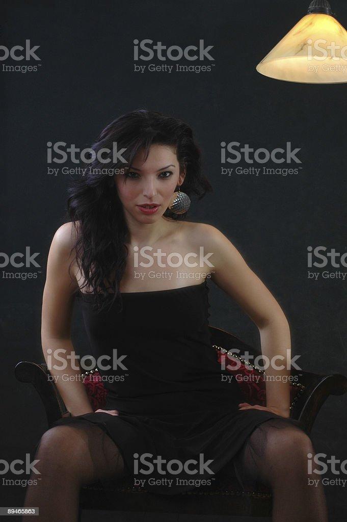 beauty woman royalty-free stock photo