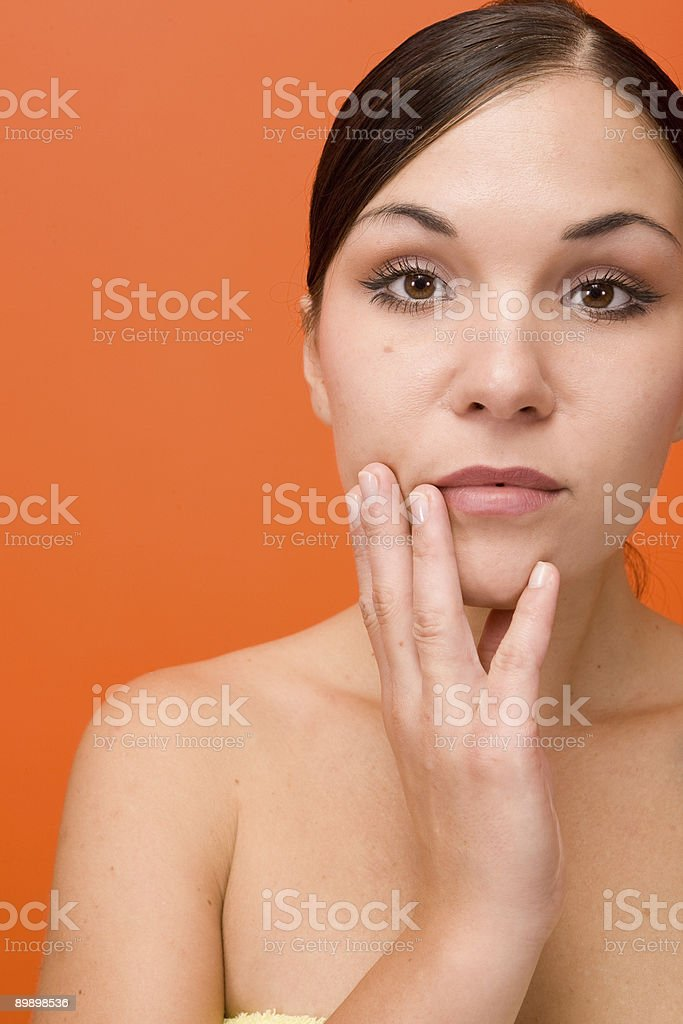 beauty woman royalty-free stock photo