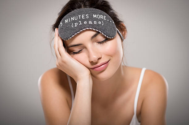 beauty woman sleeping - napping stock photos and pictures