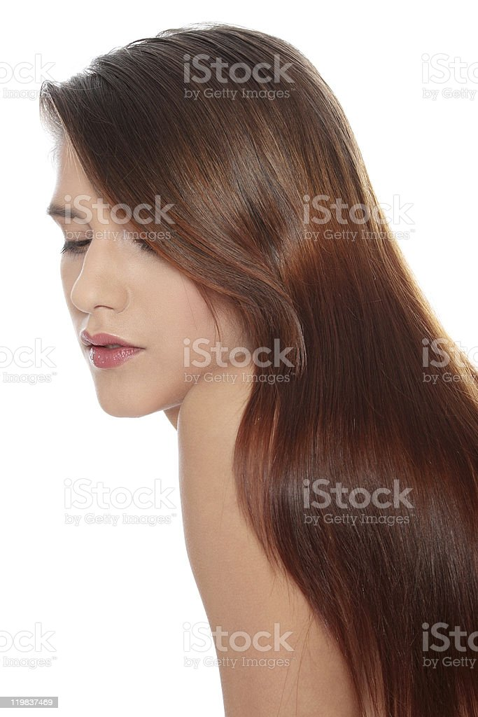 Beauty woman with perfect hairs royalty-free stock photo