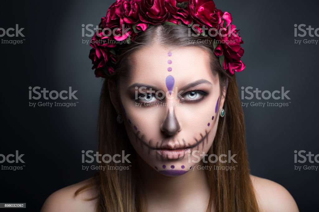 Junge Perfektes Gesicht Schönheit Stockfoto Istock